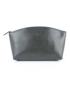 Laurige Leather Travel Vanity Bag, Gris (Grey)