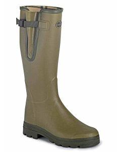 Le Chameau Men's Vierzon Jersey Lined Boot, Vert Vierzon