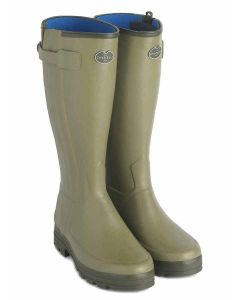 Women's Le Chameau Chasseur Neoprene Lined Boot