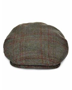 Le Chameau Flat Cap, Traditional tweed peaked cap
