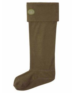 Le Chameau Women's Fleece Boot Liners, Vert Chameau