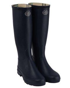 Le Chameau Iris Women's Wellington Boots, Noir (Black)