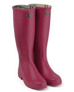 Le Chameau Iris Women's Wellington Boots, Rose (Pink)