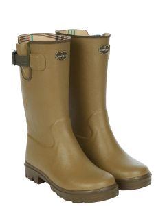Le Chameau Children's Petite Vierzon Jersey Lined Boots, Vert Vierzon