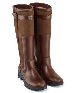 Le Chameau Jameson Women's Standard Fit Leather Boots - Caramel - 2902