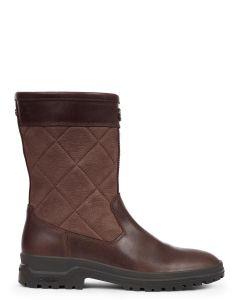 Le Chameau Women's Jameson Mid Leather Boot - Caramel - 2846