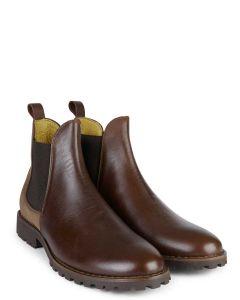 Le Chameau Men's Jameson Chelsea Leather Boot - 2700 - Caramel