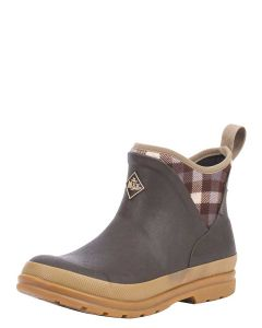Muck Boots Women's Original Ankle Boot - Brown Plaid - 33352