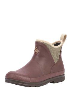 Muck Boots Women's Original Ankle Boot - Rum Raisin