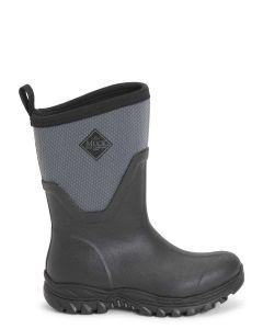 Muck Boots Women's Arctic Sport Mid Short Wellington Boot - Blue/Grey - 57014