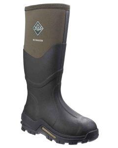 Muck Boots Men's Muckmaster Hi Wellington Boot - Moss - 23387