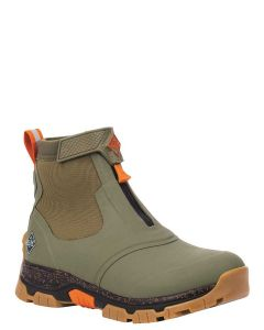 Muck Boots Men's Apex Mid Zip Ankle Boot - Olive - 57010