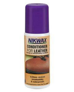 Nikwax Conditioner for Leather - Softens and waterproofs full grain leather.