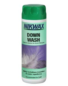 Nikwax Down Wash Direct; A detergent for down clothing from Nikwax.