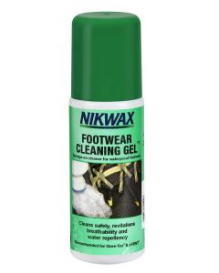 Nikwax Footwear Cleaning Gel. A gel that revitalises breathability and water repellence.