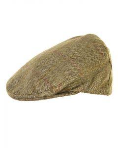 Olney Kinloch Sport Saxony Tweed Flat Cap