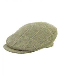 Olney Bond Huntsman Tweed Flat Cap