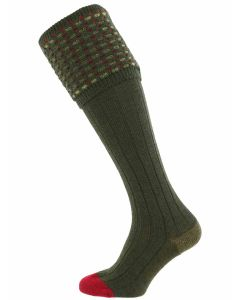 The Ambassador Merino Wool Shooting Sock - Hunter