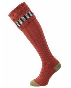 The Bristol Merino Wool Shooting Sock, Maple