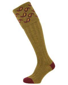 Pennine Socks - The Norfolk 'Old Sage' Merino Wool Shooting Sock
