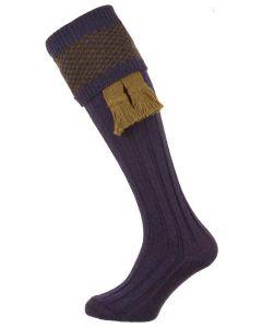 The Penrith 'Olive' Wool Shooting Sock
