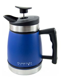 Planetary Design 8 Cup French Press with Bru Stop, Mountain Lake