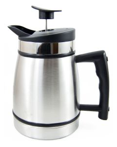 Planetary Design 8 Cup French Press with Bru Stop, Chrome