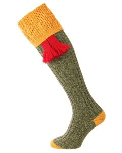 The Dovedale Shooting Sock - Highland