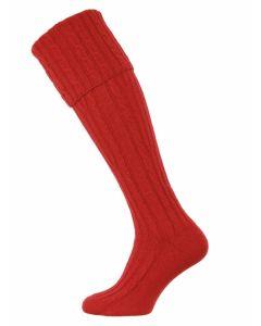 The Skye Cashmere Shooting Sock - Jasper