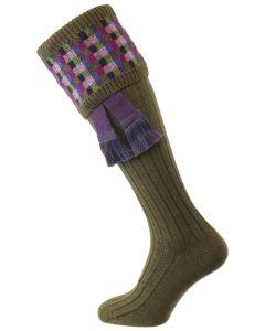 The Ashton Bracken Shooting Sock with Garter