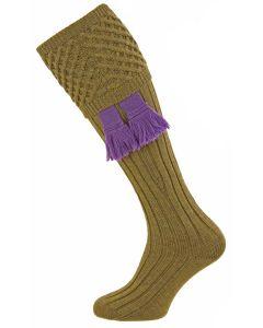 Old Sage, Chelsea - Fine Merino Wool Shooting Sock from Pennine