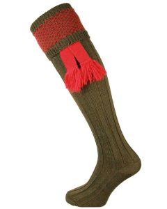 The Penrith Shooting Sock - Regal