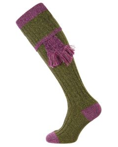The Kyle Shooting Sock - Scotspine and Heather - Small