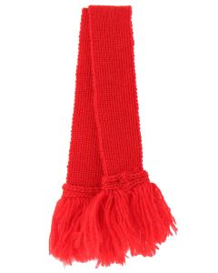 Regal Red Pure Wool Sock Garter