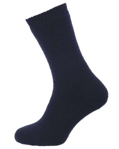 The Countryman Short Wool Boot Sock, Navy