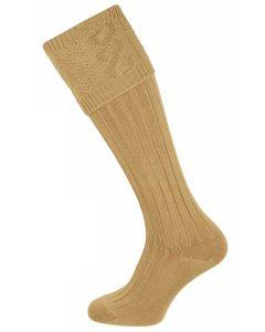 The Berrington 'Savanna' Cotton Cable Top Shooting Sock