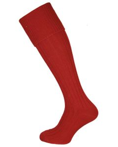 The Dodmarsh 'Currant' Cotton Shooting Sock
