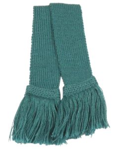 Shooting Sock Garter, Teal