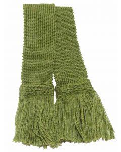 Classic Merino Blend Garter - Moss Green