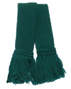 Extra Fine Merino Wool Garter - Tartan Green