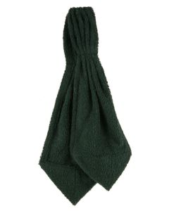 Olive Green Towelling Cravat (Neck Rain Choker)