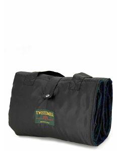 Tweedmill Eventer Pure New Wool Inner & Waterproof Backing - Blackwatch/Black - 137 x 170cms