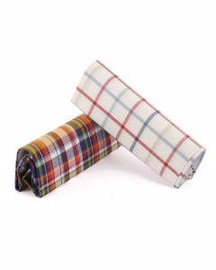 Viyella Gentlemen's Handkerchief Twin Pack, Vintage Groove
