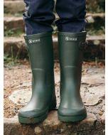 Aigle Woody Pop Welly Boots, Kaki Green