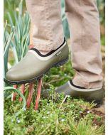 Aigle Lessfor Garden Shoe/Clog, Kaki