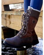 Ariat Wythburn H2O Insulated Lace Up Winter Boot, Waterproof and Breathable, Java