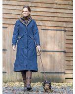 Baleno Kensington Full Length Waterproof Coat, Navy Blue