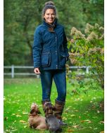 Women's Baleno Ladyfield Waterproof and Breathable Coat, Navy Blue