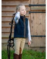 Baleno Wizz Children's Fleece Gilet, Navy Blue