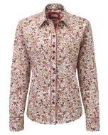 Grenouille Relaxed Fit Cotton Shirt, Paisley in the Country